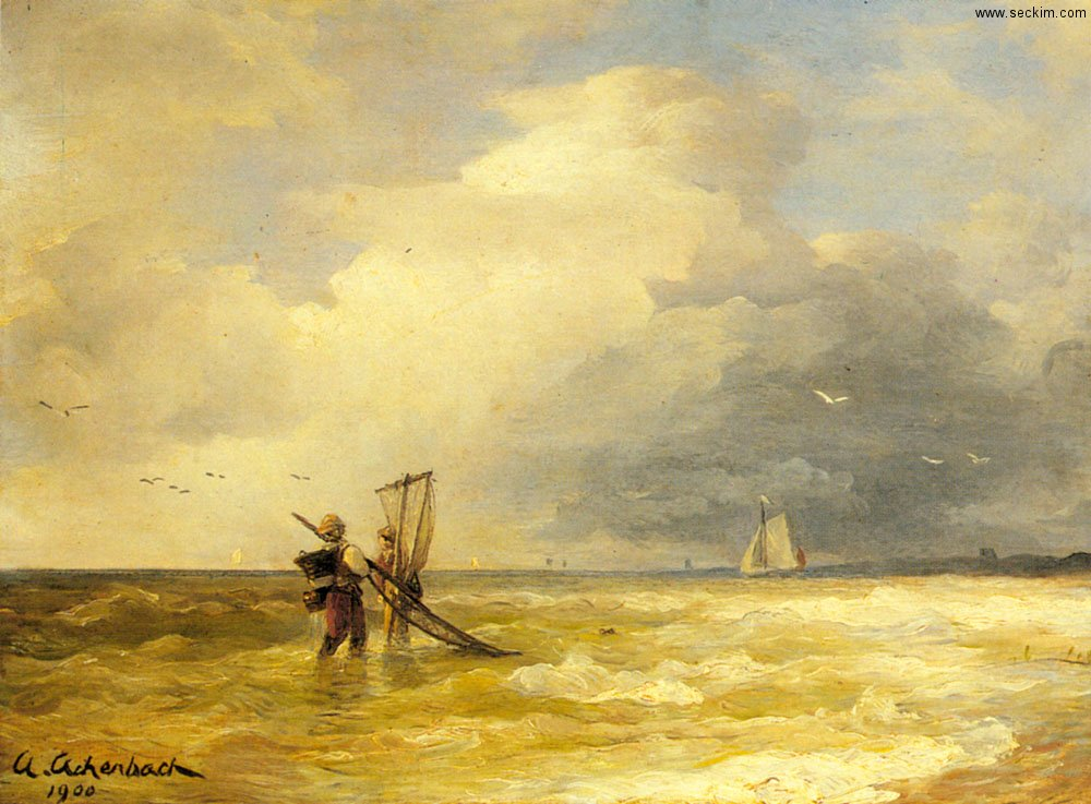 fishing-along-the-shore