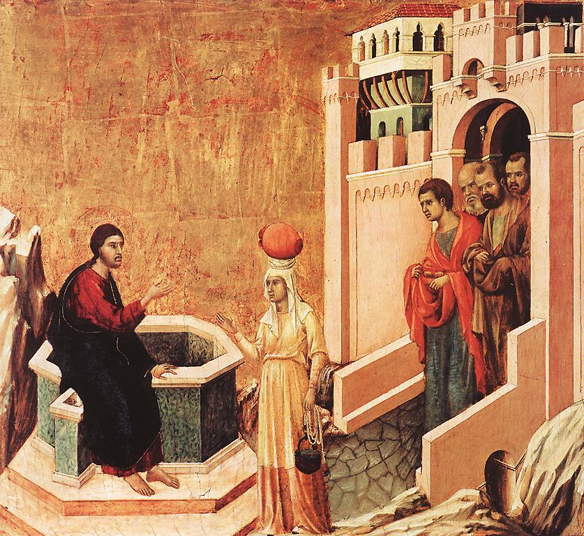 Christ and the Samaritan