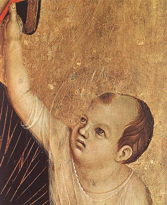 Crevole Madonna (detail)