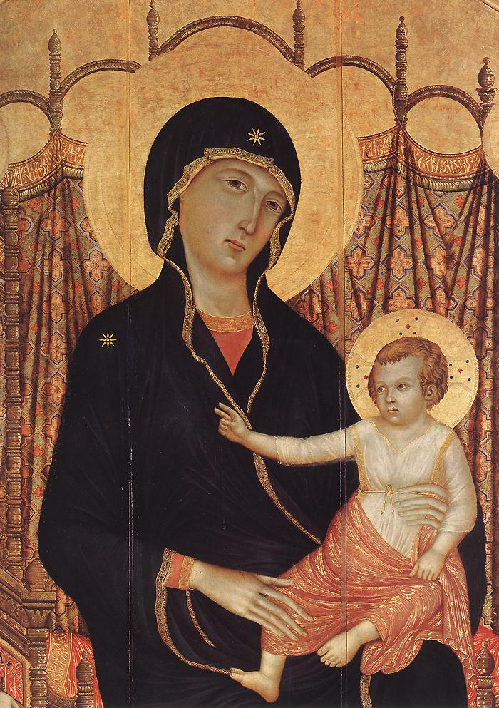 Rucellai Madonna (detail) 1
