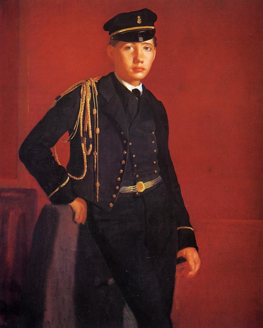 achille-de-gas-the-artist-brother-in-the-uniform-of-a-cade