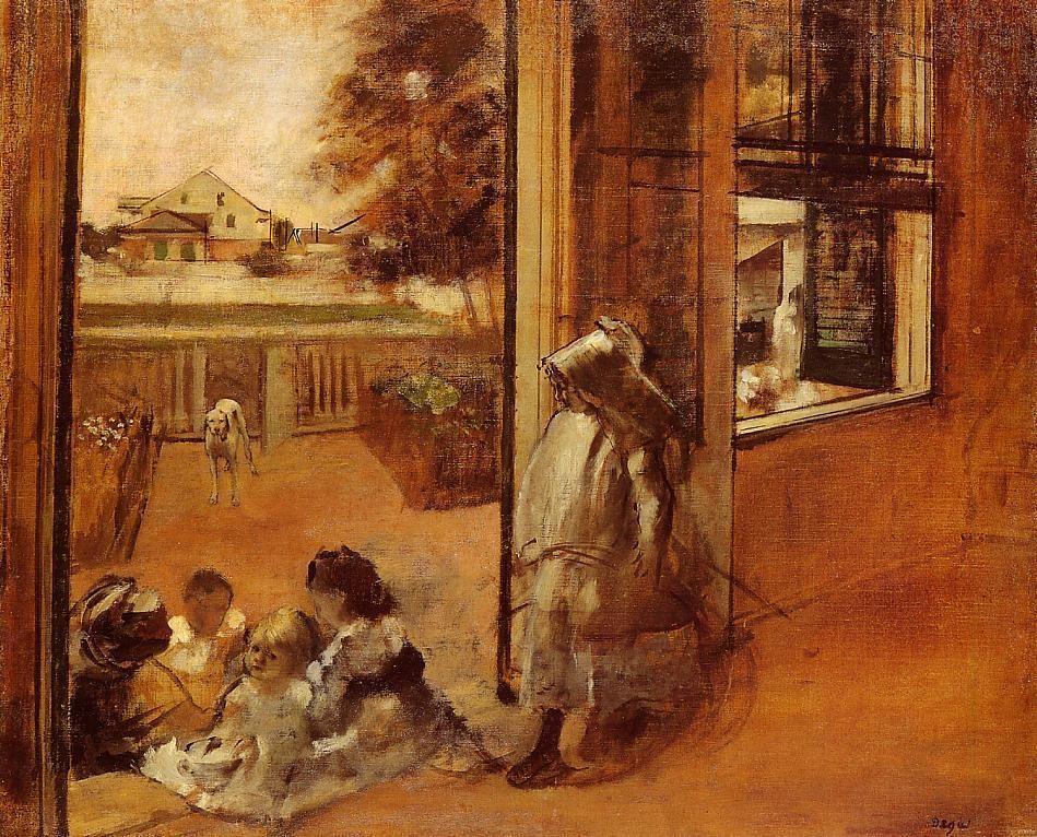 children-on-a-doorstep