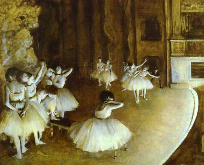 edgar-degas-ballet-rehearsal-on-stage