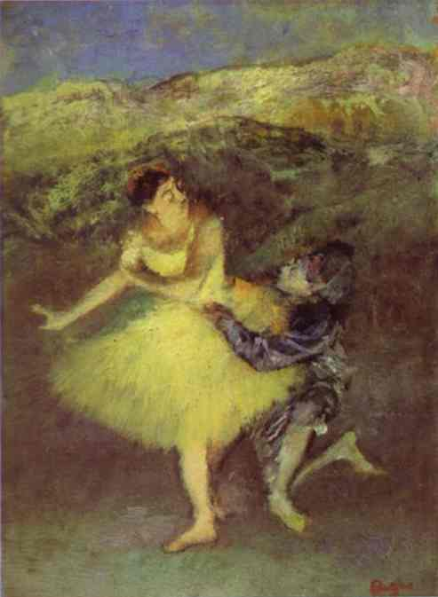 edgar-degas-harlequin-and-colombine