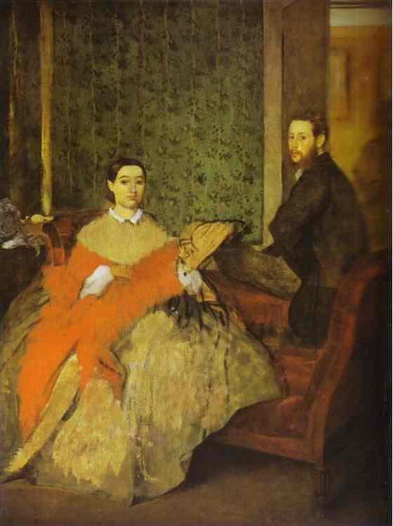 edgar-degas-portrait-of-edmondo-and-therese-morbilli