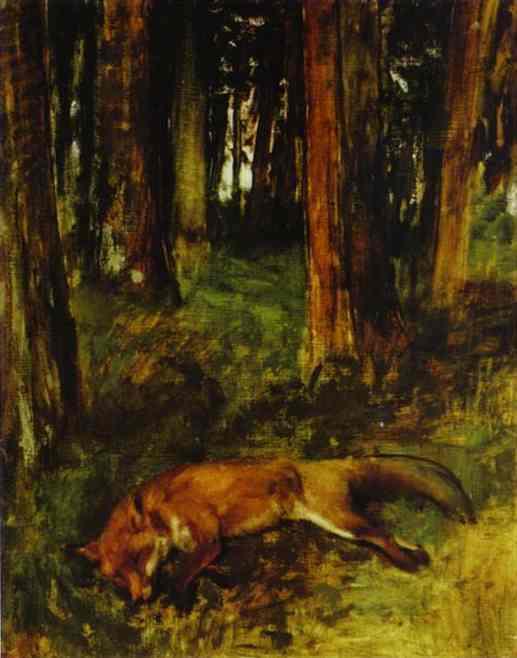 edgar-degas-the-dead-fox