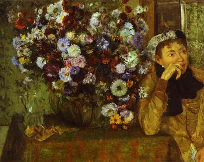 edgar-degas-woman-with-chrysanthemums
