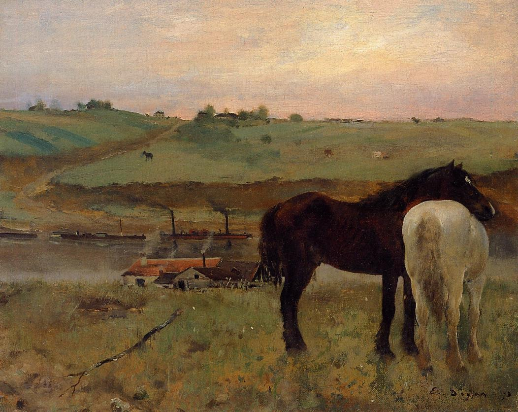 horses-in-a-meadow
