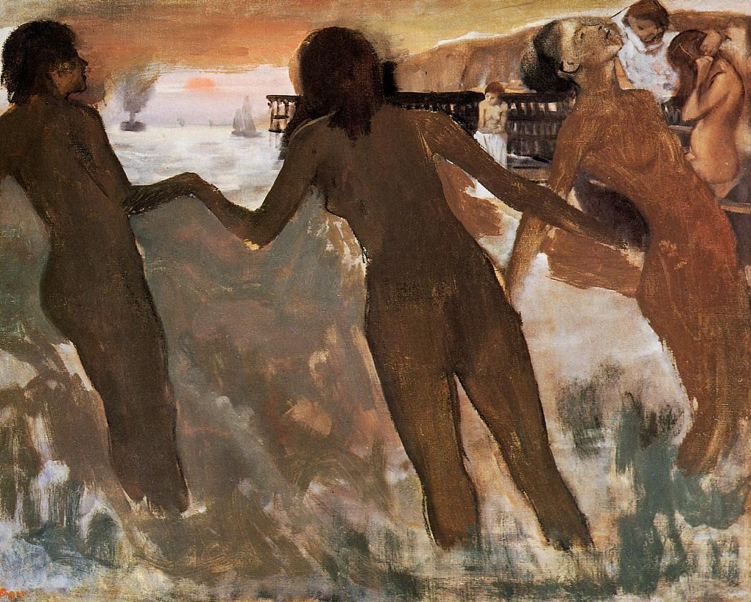 peasant-girls-bathing-in-the-sea-at-dusk