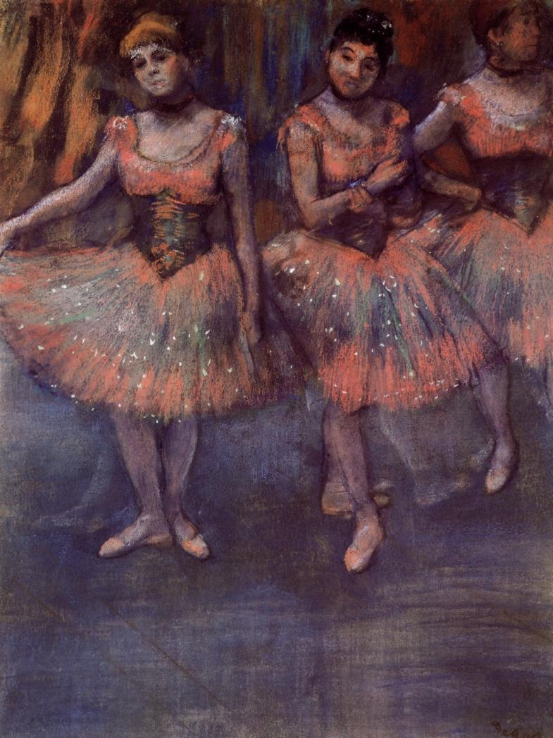 three-dancers-before-exercise