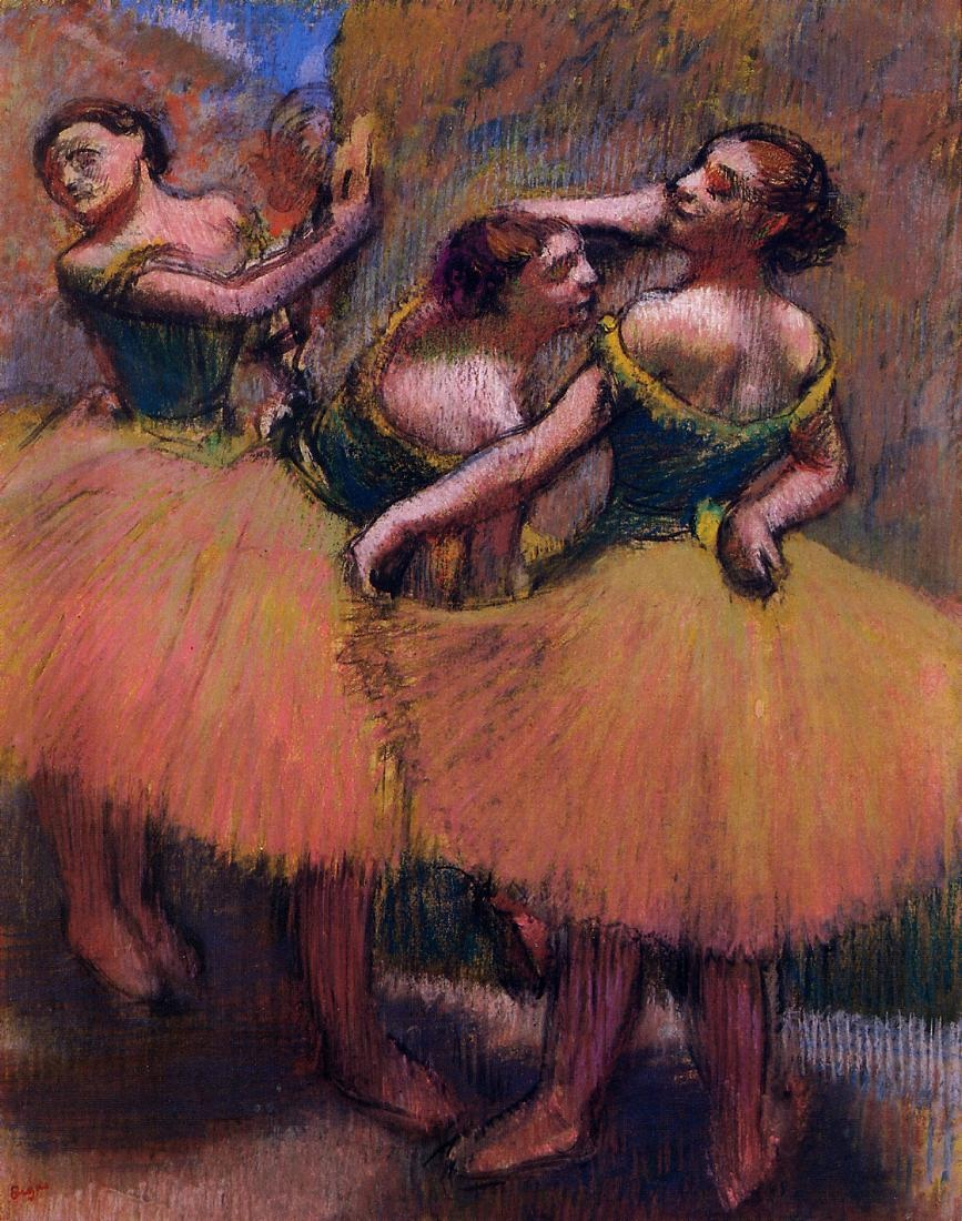 three-dancers-green-blouses