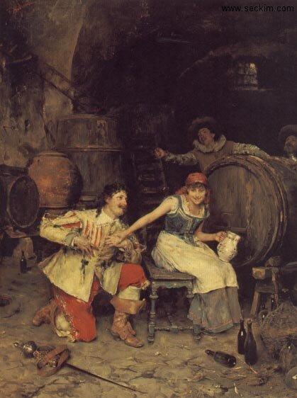 flirtation-in-the-wine-cellar