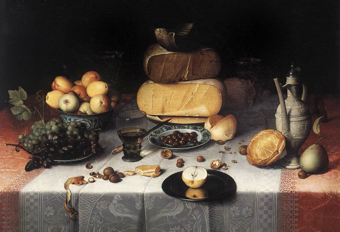 Still-Life with Cheeses
