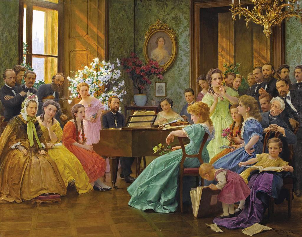Dvorak_Bedrich_Smetana_and_friends_in_1865