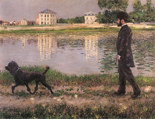 richard-gallo-and-his-dog-at-petit-gennevilliers