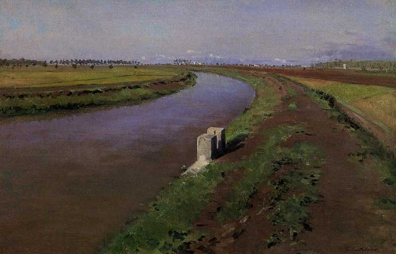 the-banks-of-a-canal-near-naples
