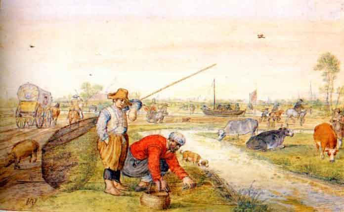 fisherman-at-a-ditch