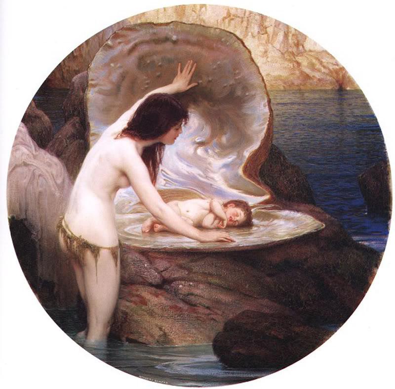 Herbert_James_Draper,_A_Water_Baby
