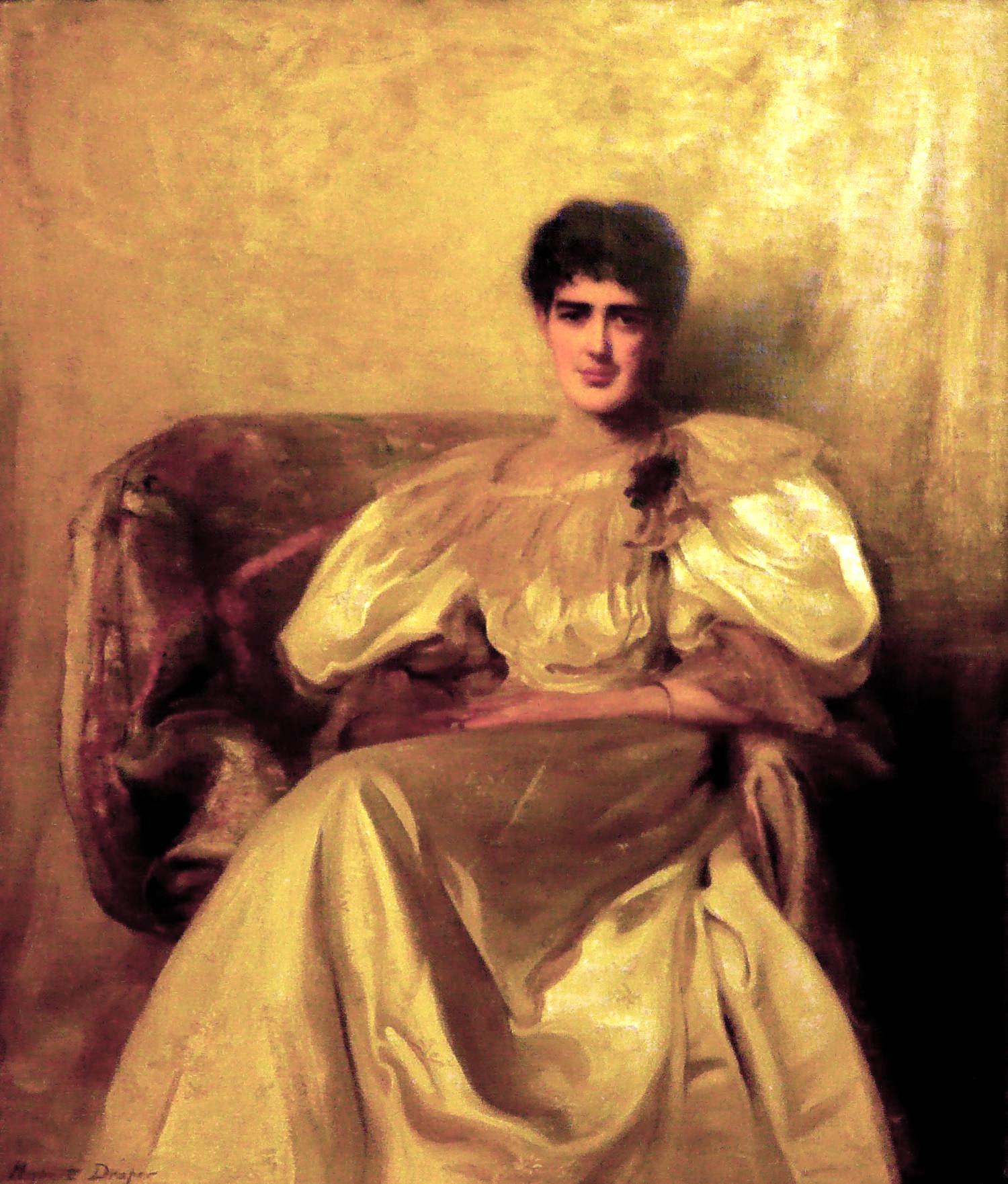 Herbert_James_Draper,_Portrait_of_Ida_Draper