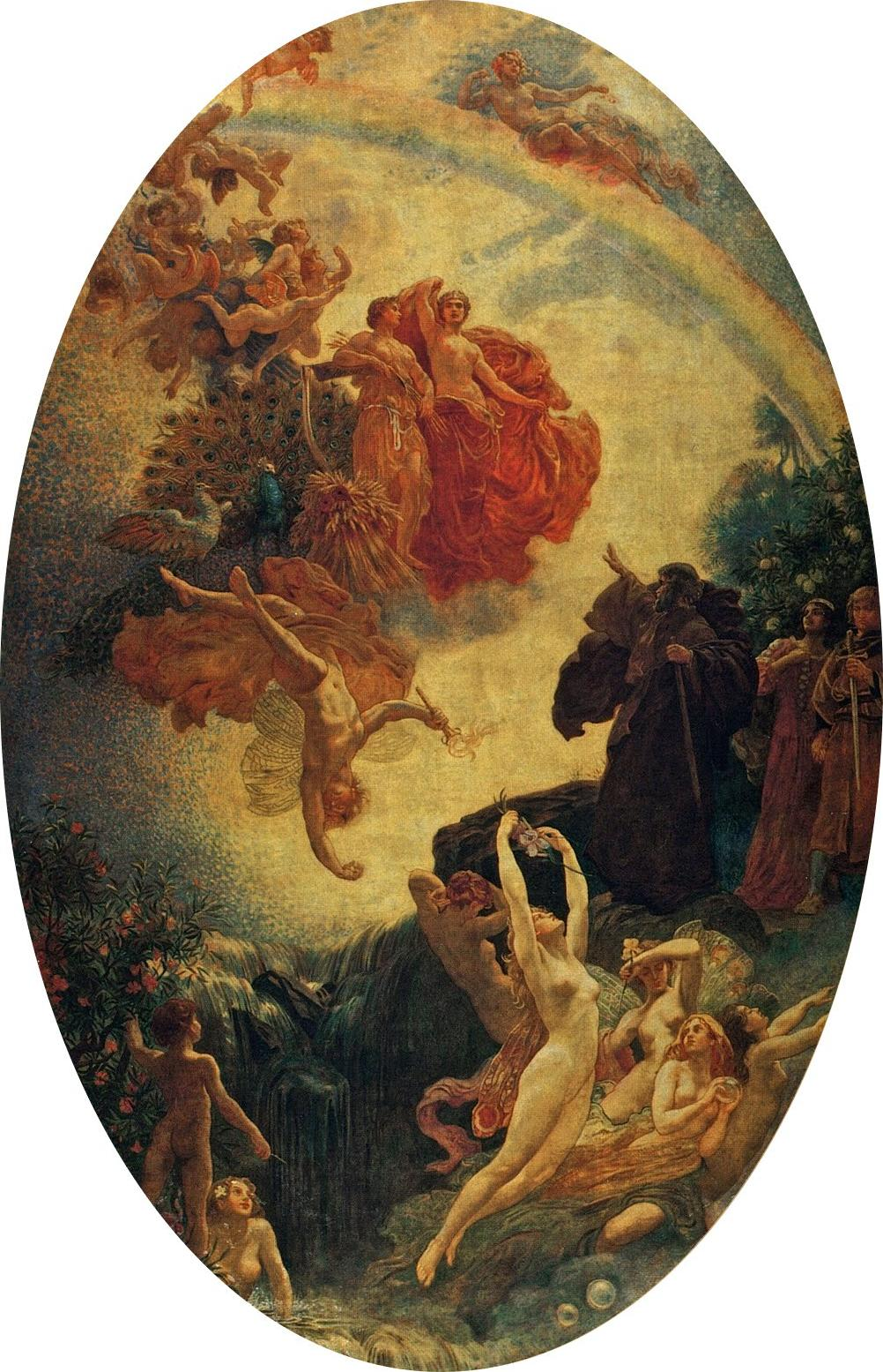 Herbert_James_Draper,_Prospero_Summoning_Nymphs_and_Deities