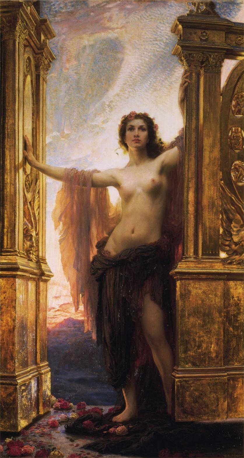 Herbert_James_Draper,_The_Gates_of_Dawn,_1900