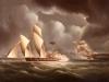 a-british-frigate-attacking-a-pirate-lugger-at-night