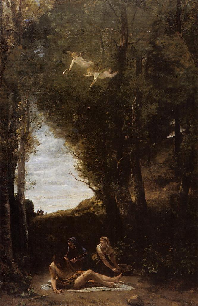 saint-sebastian-in-a-landscape