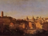rome-the-forum-seen-from-the-farnese-gardens-evening