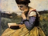 woman-reading-in-a-landscape