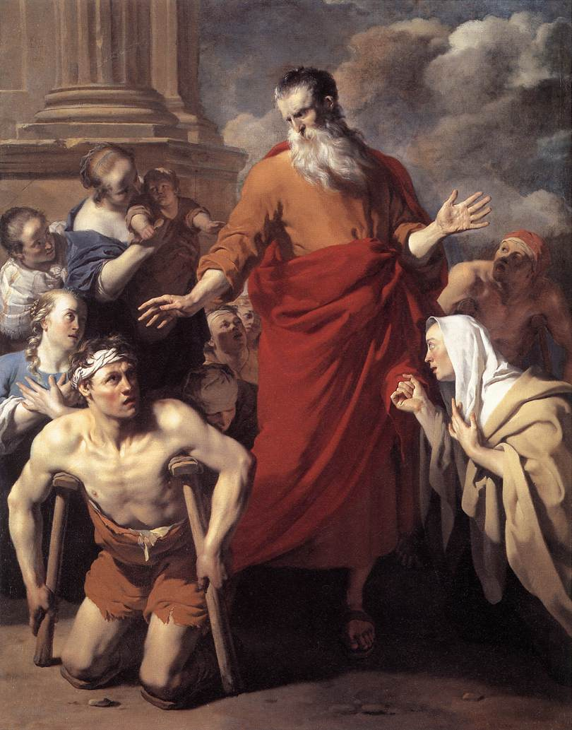 St Paul Healing the Cripple at Lystra
