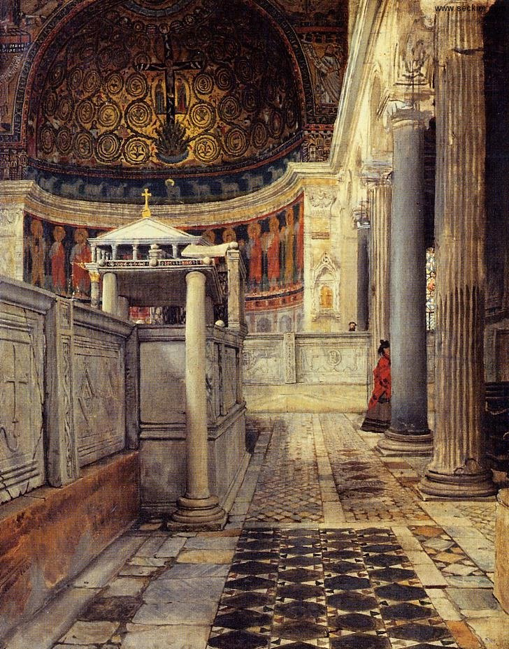 interior-of-the-church-of-san-clemente-rome
