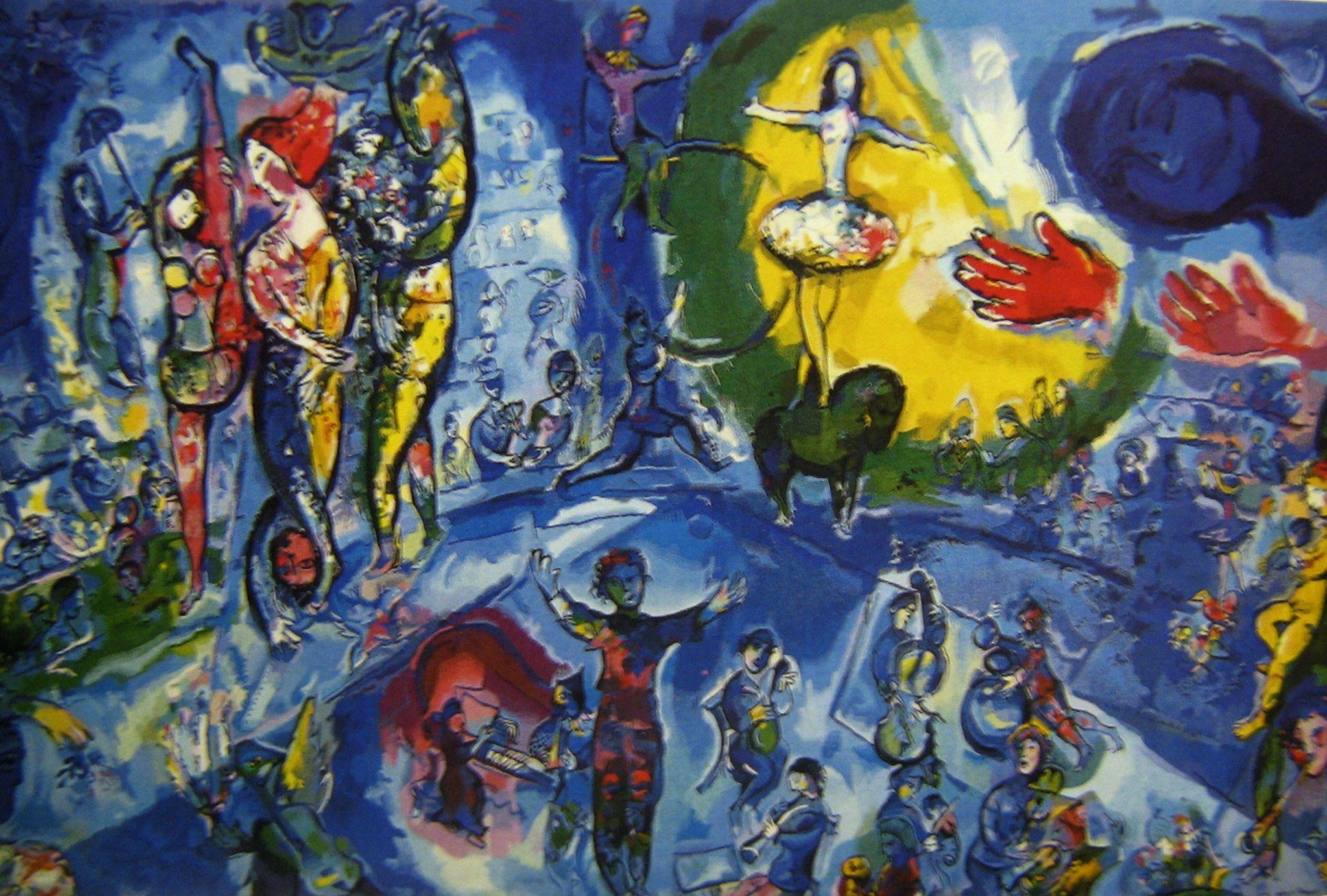 Marc chagall hayatim for Chagall tableau