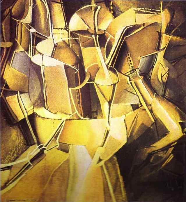 Marcel Duchamp 1912 Le Passage de la Vierge … la Mari'e