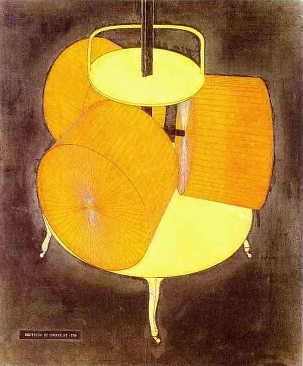 Marcel Duchamp 1914 Broyeuse de chocolat no 2