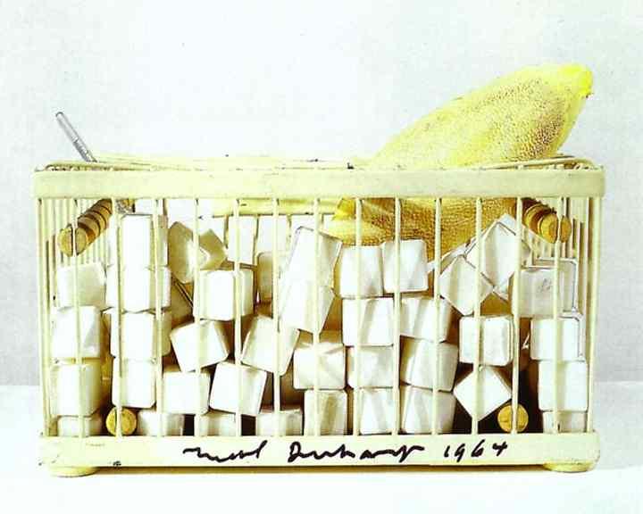Marcel Duchamp 1921-64 Why Not Sneeze Rose S'lavy