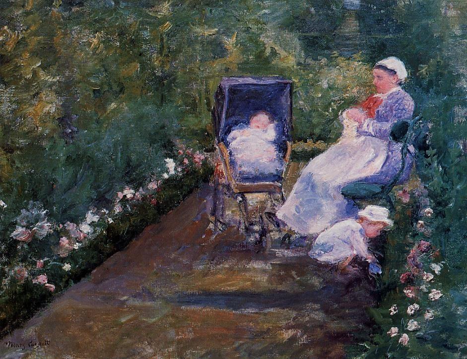 children-in-a-garden