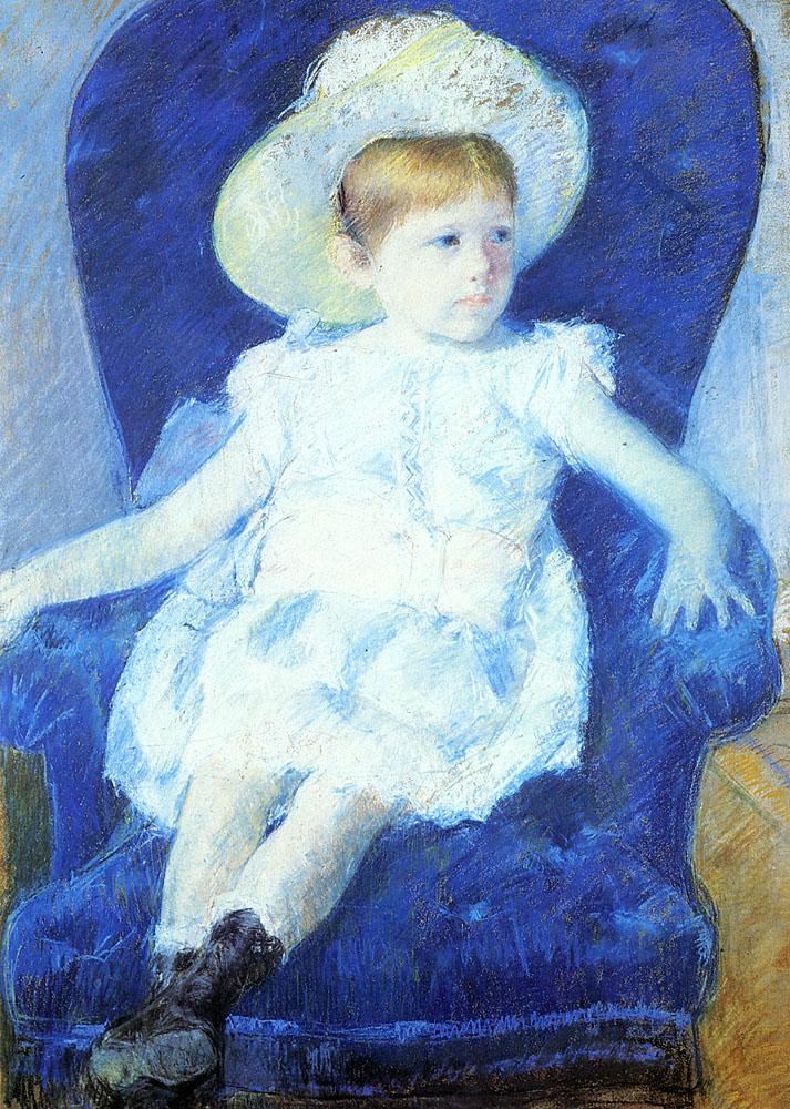 elsie-in-a-blue-chair