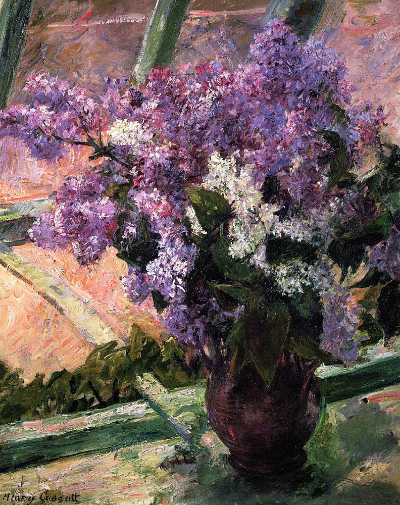 lilacs-in-a-window