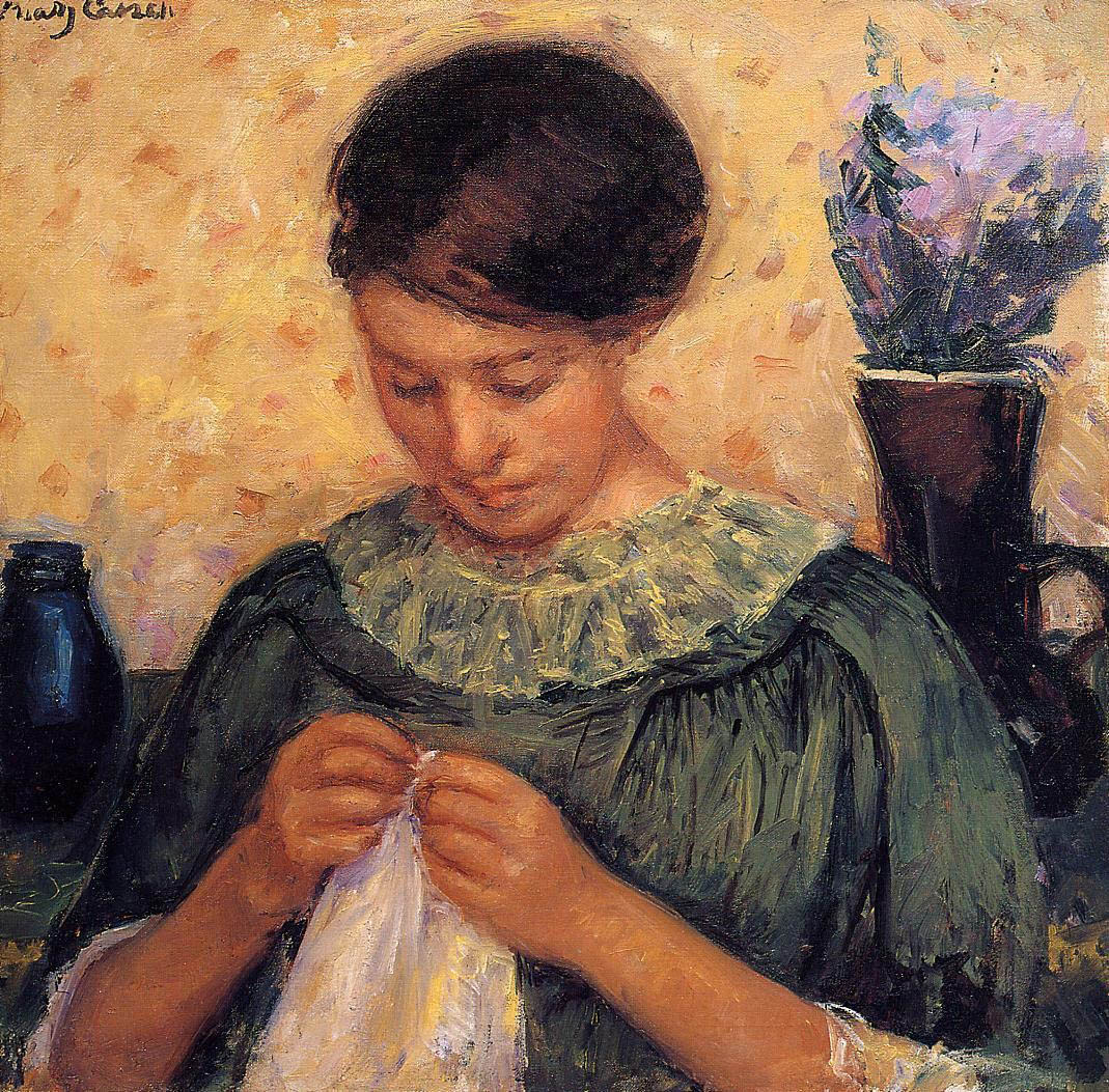 woman-sewing