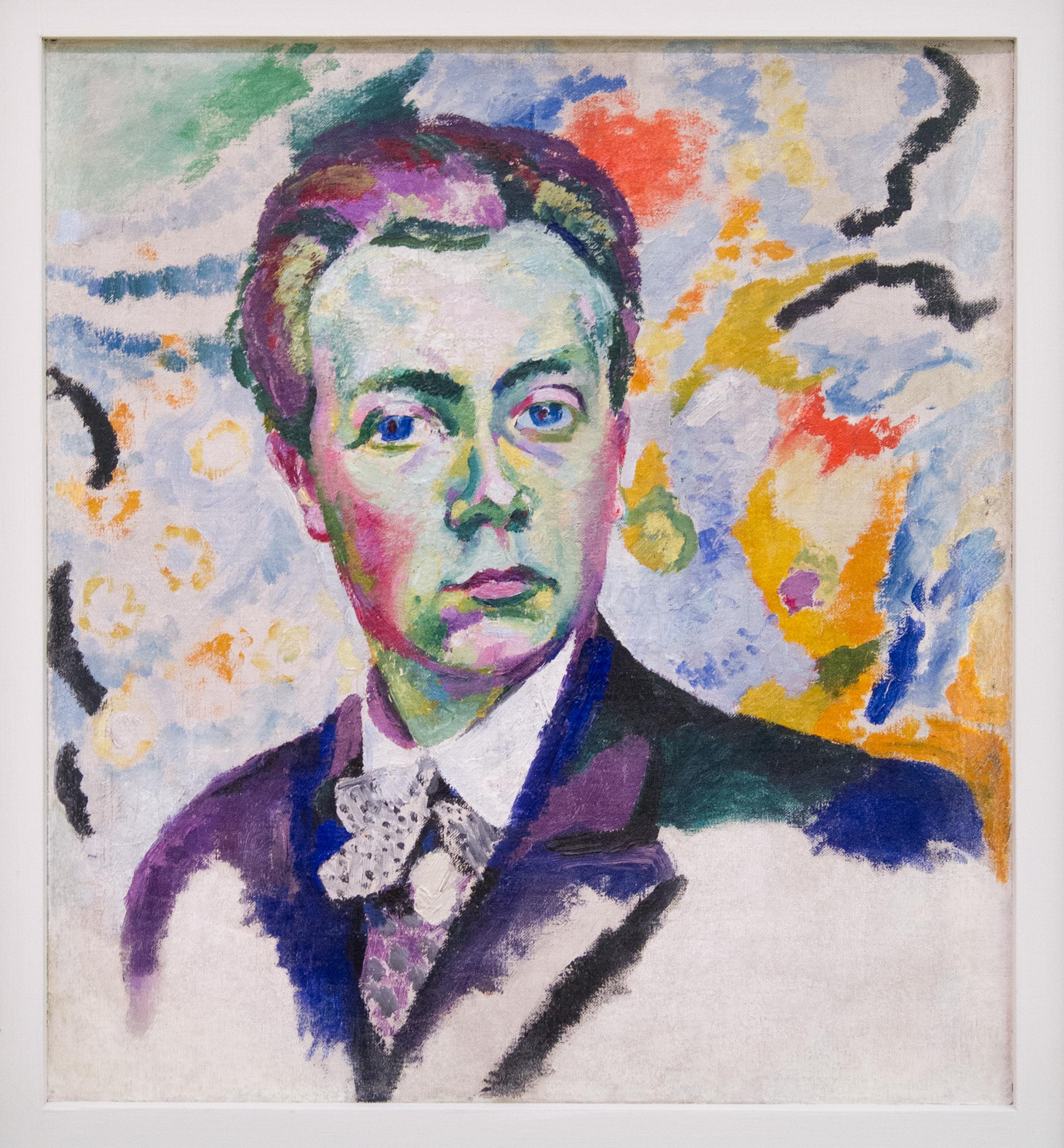 Robert Delaunay - autoportrait