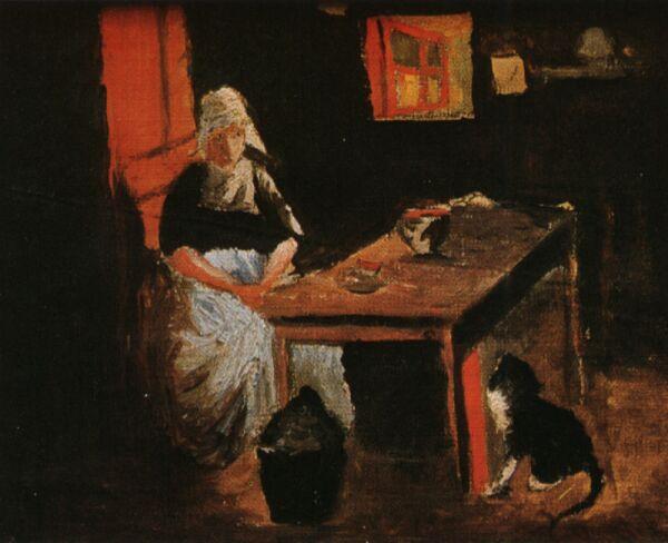 1914_02_Dutch Interior, 1914