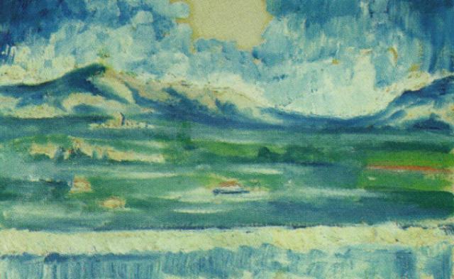1914_03_Landscape Near Ampurdan, circa 1914