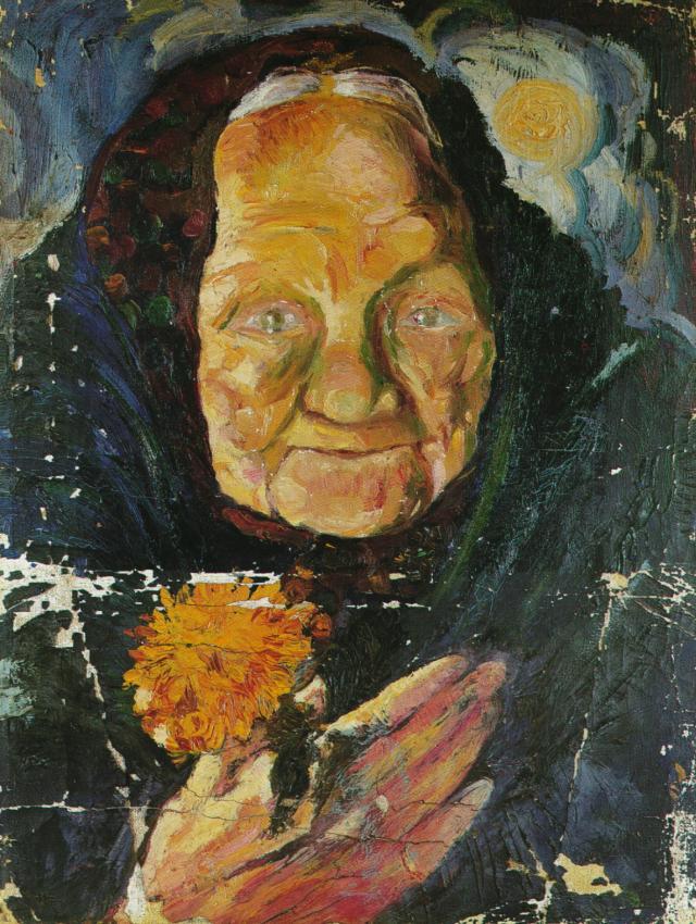 1918_02_Portrait of Lucia (Retrato de Lucia), circa 1918