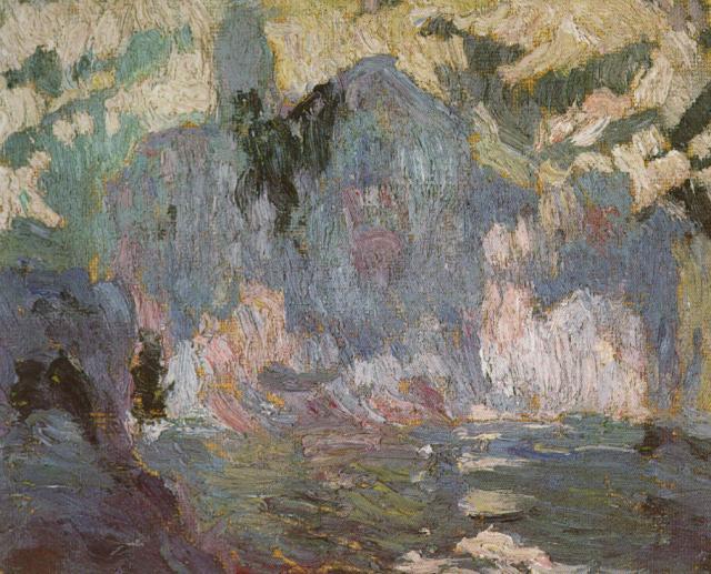 1918_05_Playa Port Alguer from Riba d en Pitxot, 1918-19