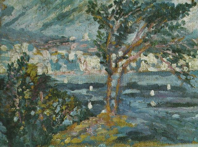 1919_05_Landscape (CadaquNs), 1919-20