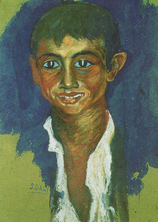 1919_08_Portrait of a Gipsy, 1919