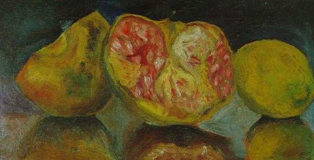 1919_19_Still Life_ Pomegranates, circa 1919