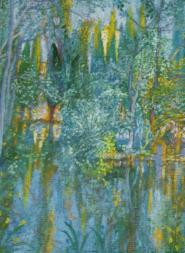 1920_02_The Lake at Vilabertran, circa 1920