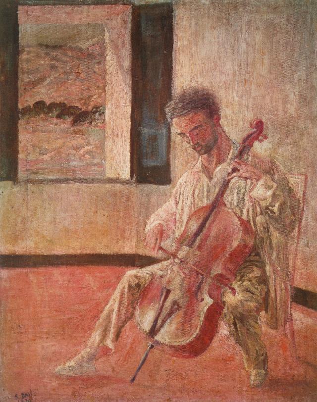 1920_06_Portrait of the Violoncellist Ricardo Pichot, 1920