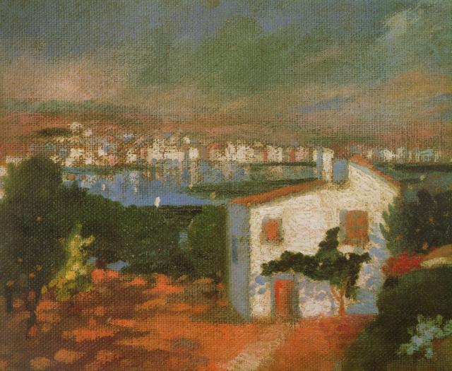 1920_14_The Garden of Llaner, 1920-21